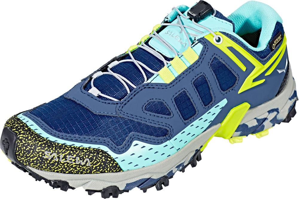 Zapatos azules Salewa Ultra Train para mujer BG7KR8KAna